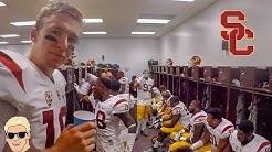 USC Football vs ASU Football  FILMED BY PLAYER (Conner Sullivan)