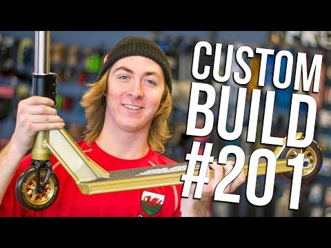 Custom Build #201 (ft. Cam Ward) │ The Vault Pro Scooters