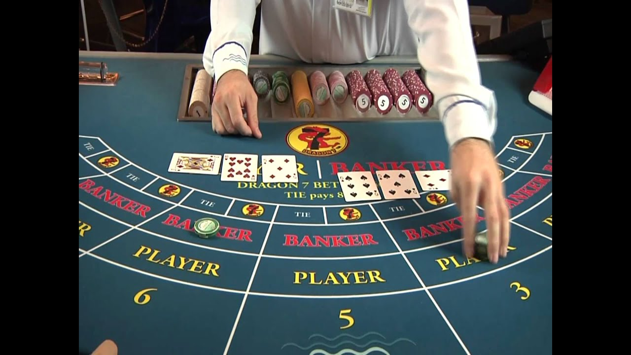 Casino baccarat rules craps tournaments 2015