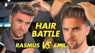 Quiff hairstyle vs Slickback - Mens hair 2019 Revolution