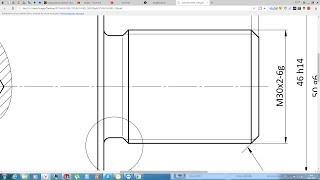 Solidworks. Урок 20.3 Простановка РЕЗЬБЫ по ГОСТ ЕСКД - создание чертежа