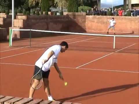 Final Campionat de Catalunya de Tennis per Clubs 2011 -  Robredo/Olaso/Granollers ...