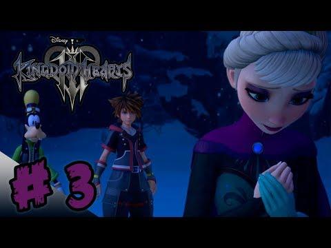 KINGDOM HEARTS 3 - Parte 3 (Español) | Experto |  Let's Play | Winnie The Pooh Y Frozen | EGuitarr