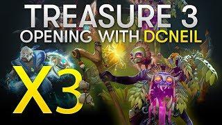 Dota 2 TI8 - Immortal 3 Treasure Opening with dcneil (x89 Treasures, x3 WD!)