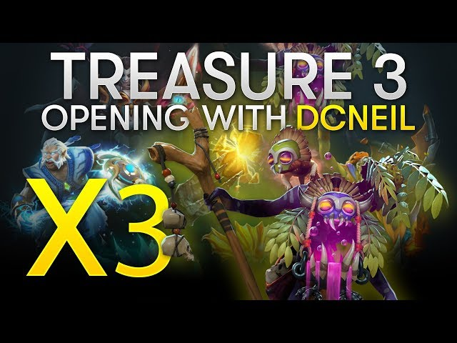 Dota 2 TI8 - Immortal 3 Treasure Opening with dcneil (x89 Treasures, x3 WD!)