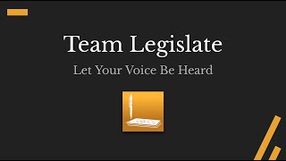 Team Legislate About Us