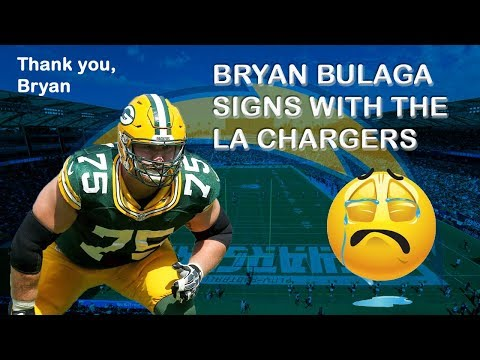 Bryan Bulaga Signs With The Chargers | Thank You, Bryan! Farewell
