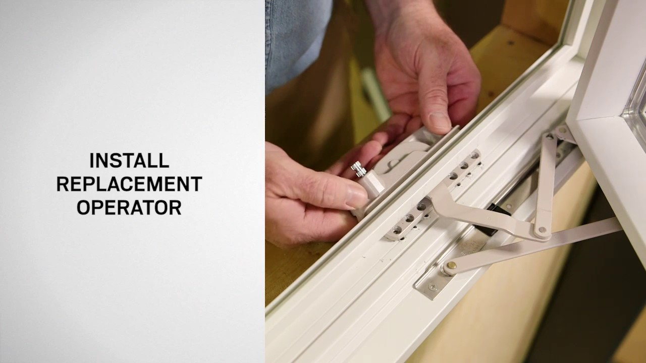 Andersen Replacement Windows >> Operator Replacement on Andersen® 100 Series Casement Windows - YouTube