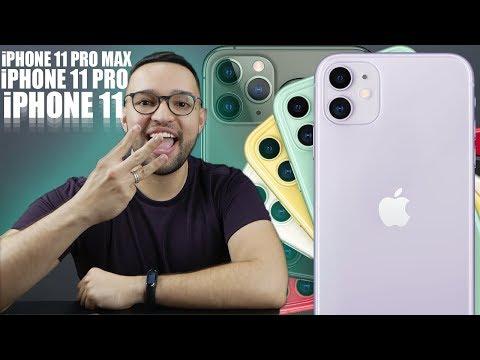CONHEÇA OS iPHONES 11, 11 PRO e 11 PRO MAX!