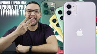 ConheÇa Os Iphones 11 11 Pro E 11 Pro Max