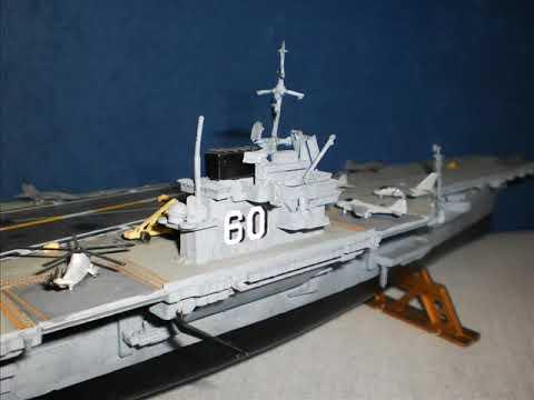 Revell U.S.S Saratoga CVA-60