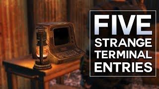 Fallout 4 - 5 Strange Terminal Entries