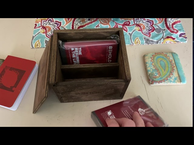 BEHOLD Bible Cards Unboxing