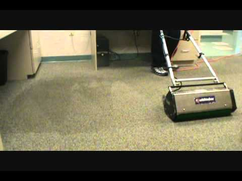 Dry System Carpet Cleaning Demo Dalton Ga Youtube