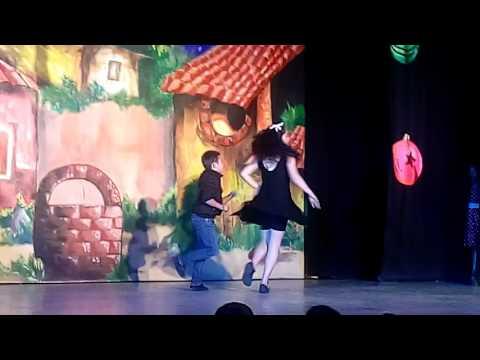 3/4 Dilan Loza + Nataly Vera clases de baile Rockabilly Jive Casa Regional de Cultura Nezahualcoyotl