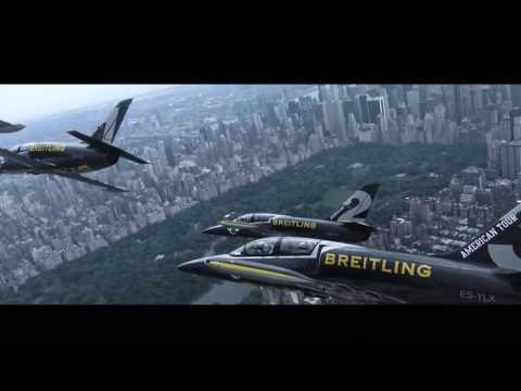 Breitling Jet Team Flying Over New York City - 2016