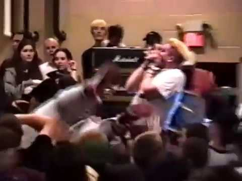 DAMNATION A.D. live at Cleveland Fest 1996 on March 30, 1996 at Willoughby Armory