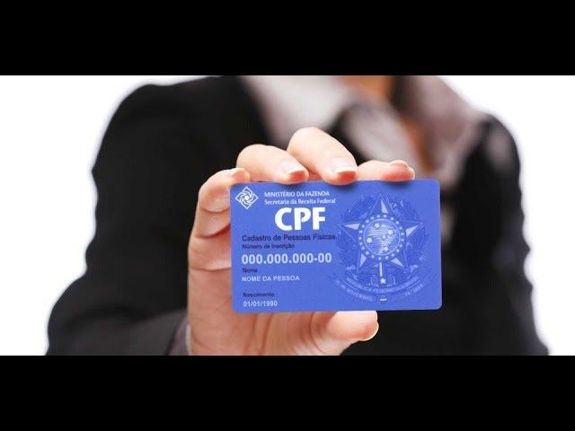 CPF IRREGULAR PODE CANCELAR SEUS BENEFÍCIOS DO INSS