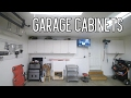 Replacing garage shelves with cabinets - Free craigslist score
