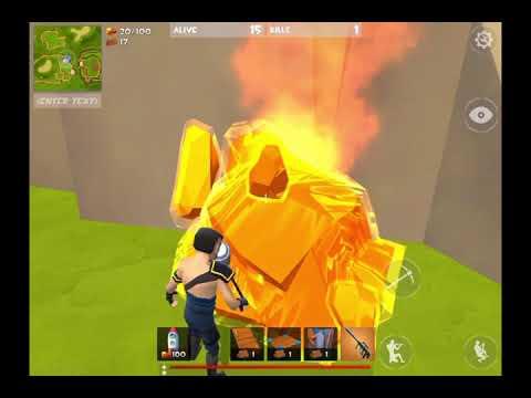 Rocket royale - limit FPS gameplay