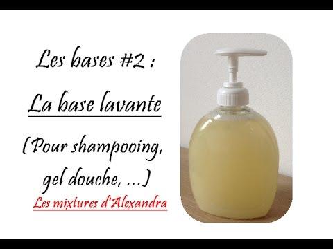 Les bases #2 : la base lavante (pour shampooing, gel douche,...)