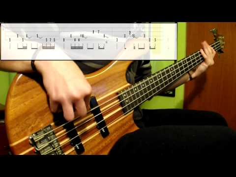 Mudvayne - Happy? (Bass Cover) (Play Along Tabs In Video)