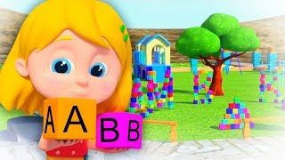 Abc Song | Schoolies Nursery Rhymes for Kids | Learning Videos for Babies