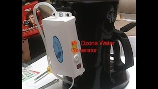 Clean Drinking Water. Make / Convert Ozone Water Generator from Mr. Coffee Maker