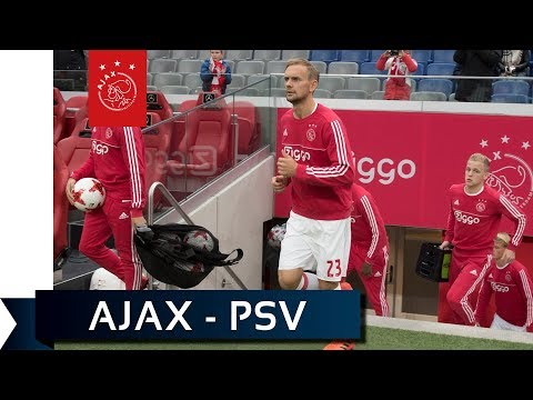 LIVE Warming-up Ajax - PSV en interview Marcel Keizer