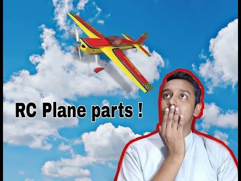 Rc Airplane basic parts for begginers || RC Airplane parts