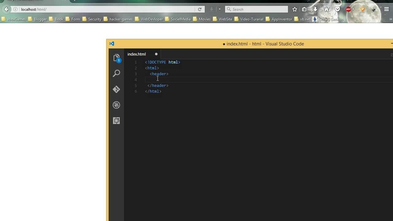 الدرس الأول تعريف هيكلة (html)