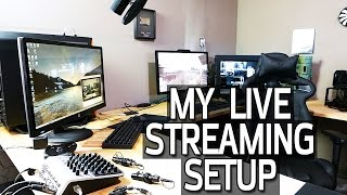 Live Stream Setup Tour - Cameras, Audio & Hardware
