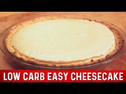Low Carb Easy Cheesecake