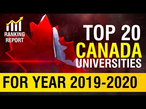 Top 20 Universities In Canada For Year 2019 To 2020