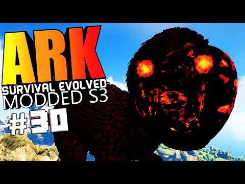 ARK Survival Evolved - RAPHUS THE CELESTIAL TAMING, ARGENT WARDEN Modded #30 (ARK Mods Gameplay)