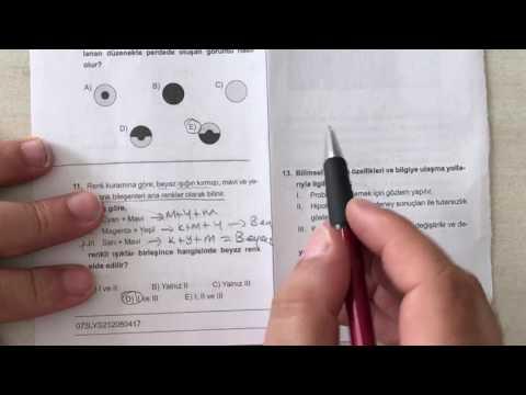 Lys fizik deneme sınavı 1   2.video