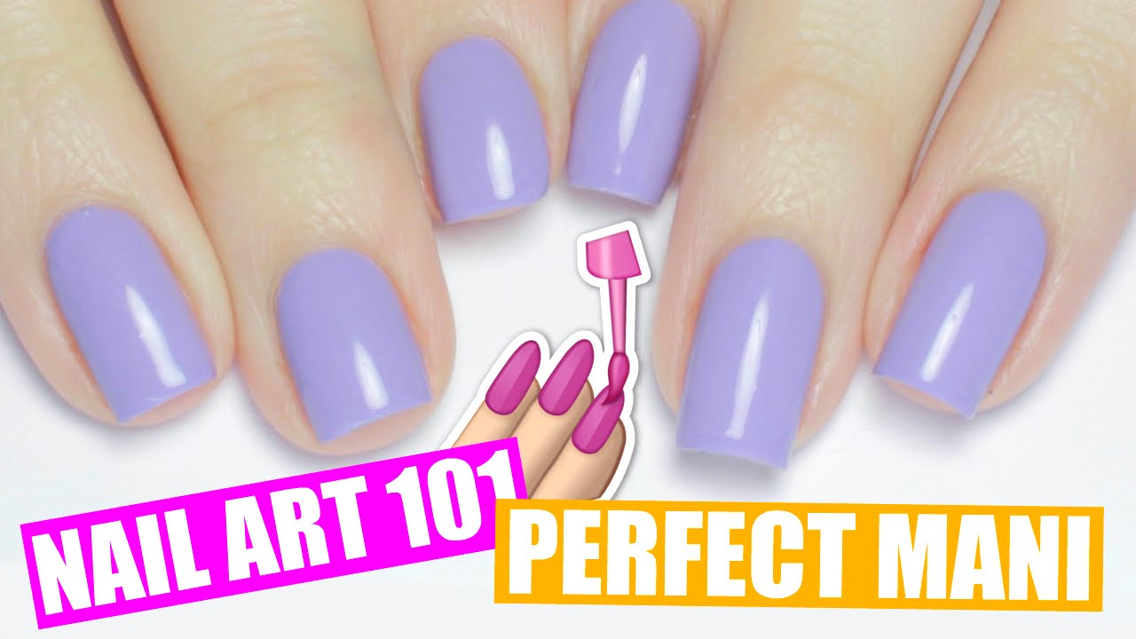 HOW TO PAINT YOUR NAILS PERFECTLY + NON DOMINANT HAND TIPS | NAIL ...
