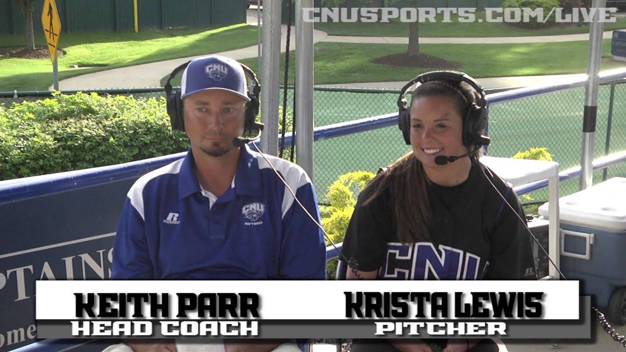 NCAA Softball Regional Post Game Interview CNU vs Salem ...