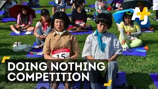 South Korea's 'Doing Nothing' Competition