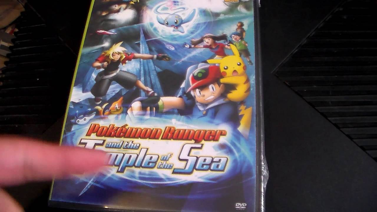 Pokemon Ranger And The Temple Of The Sea Dvd Unboxing Youtube