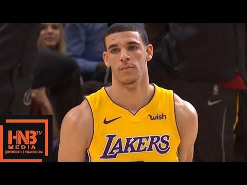 Cleveland Cavaliers vs LA Lakers 1st Qtr Highlights / Week 9 / Dec 14