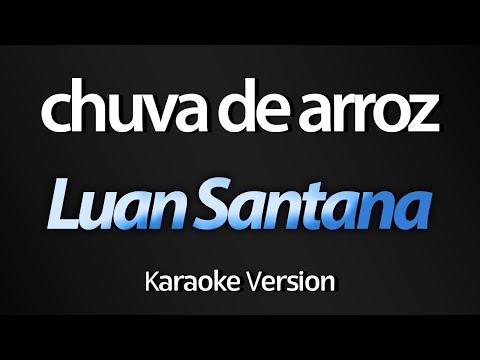 Luan Santana - Chuva de Arroz (Acústico) (Karaoke Version)
