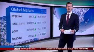 BBC World News - Business Live (first programme 30 Mar 2015)