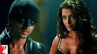 Scene: Dhoom:2 | Aryan and Sunehri like partners | Hrithik Roshan | Aishwarya Rai