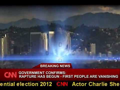 Breaking News: Rapture 2011 - People are vanishing! Shocking live footage!