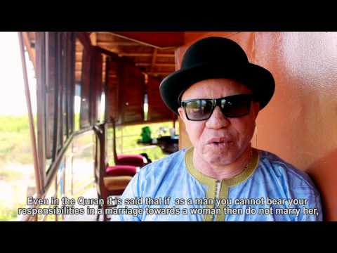 Malian Artist Salif Keita Discusses Why He's A HeforShe (English Subtitles)