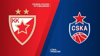 Crvena Zvezda mts Belgrade - CSKA Moscow Highlights | Turkish Airlines EuroLeague, RS Round 5