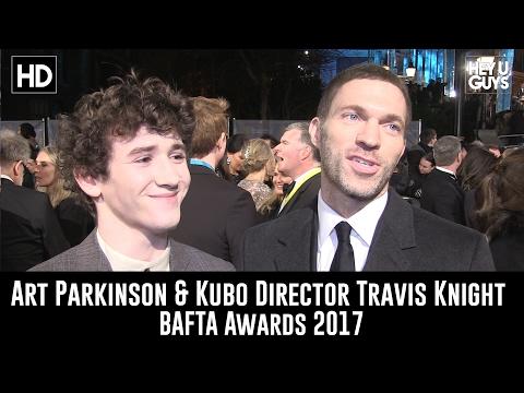 Art Parkinson & Kubo Director Travis Knight Interview - BAFTA 2017