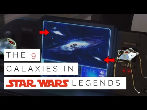 The 9 Other Galaxies In Star Wars Legends Star Wars