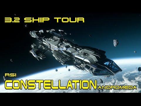 Star Citizen 3.2 | RSI Constellation Andromeda | Tour